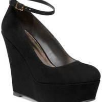 Madden Girl Rahleigh Ankle Strap Platform Wedges - Shoes - Macy's