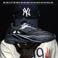 Sale Kanye West x Adidas Calabasas Yeezy Boost 700 Runner Sport Shoes Running Shoes Black