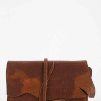 American Vintage Wraparound Leather Wallet - Urban Outfitters