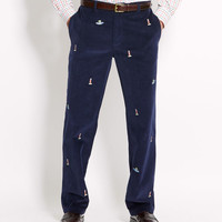 Light and Boat Embroided Club Pant