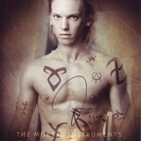 Jamie Campbell Bower The Mortal Instruments City of Bones reprint signed autographed photo #1 Jace