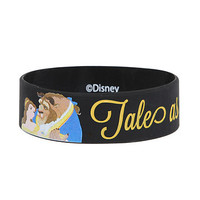 Disney Beauty And The Beast Tale Rubber Bracelet | Hot Topic