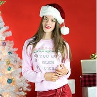 You Go Glen Coco Ugly Christmas Sweater Crewneck Sweatshirt