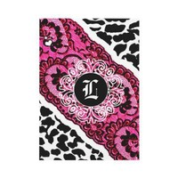 311-Pink Leopard and Lace Invitation from Zazzle.com