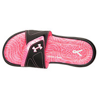 Women's Under Armour Ignite 7 Power In Pink Slide Sandals | Finish Line