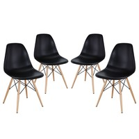 Pyramid Dining Side Chairs Set of 4 EEI-1316