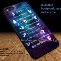 Disney Quote Lessons Learned DOP1292 iPhone 6s 6 6s+ 5c 5s Cases Samsung Galaxy s5 s6 Edge+ NOTE 5 4 3 #quote
