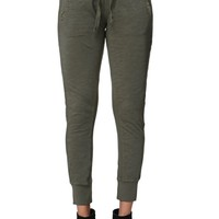 LA Hearts Rib Woven Paneled Jogger Pants - Womens Pants