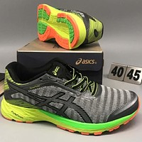 ASICS comfortable shockproof retro sneakers F-CSXY grey