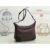 """Louis Vuitton "" Fashion handbags canvas flower pressure word ladies shoulder bag"