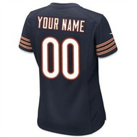 Women's Customized Nike Game Day Jersey - Official Chicago Bears Store