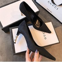 GUCCI Pointed sexy high heels