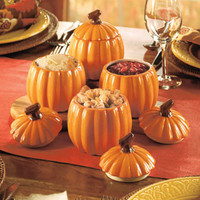 Set of 4 Pumpkin Side Dishes