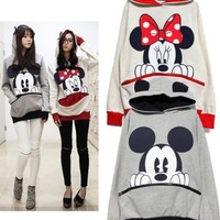 Minnie Mouse Pullover Ear Hoodie