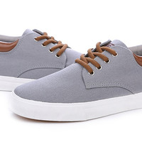Mens Trendy Canvas Low Casual Shoes