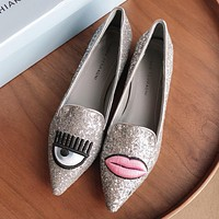 Chiara Ferragni  Women Fashion Simple Casual Loafers  Shoes