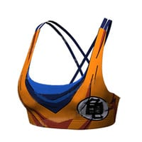 Goku Dragon ball z armor Sport Bra