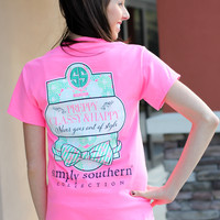 Simply Southern Tee - Classy + Happy