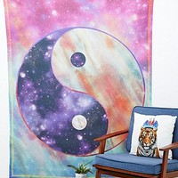 Celestial Yin Yang Tapestry Throw - Urban Outfitters