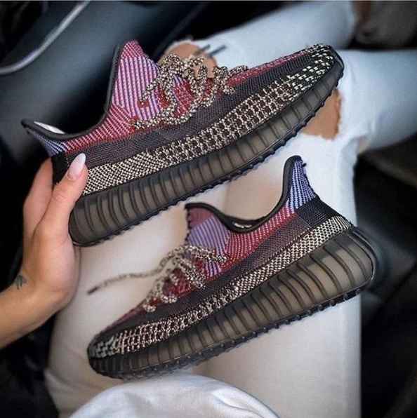 Image of adidas Yeezy Boost 350 gym shoes
