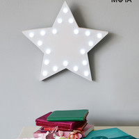 Marquee Star Wall Light