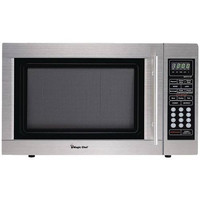 MAGIC CHEF MCD1310ST 1.3-Cubic ft Countertop Microwave (Stainless Steel)