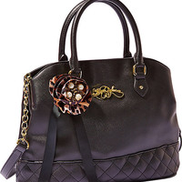 QUILTY PLEASURE SATCHEL