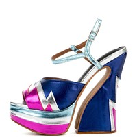 Jeffrey Campbell for Women: Electric Blue Heel