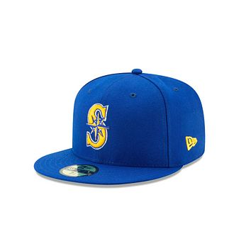 New Era Seattle Mariners MLB 59Fifty Fitted Cap