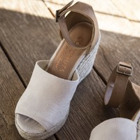 Flamingo Espadrille Wedges, Natural | Coconuts by Matisse
