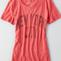 AEO Women's Signature Favorite T-shirt (Red)