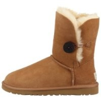 UGG Australia Women's Bailey Button Chestnut 7 B - Medium