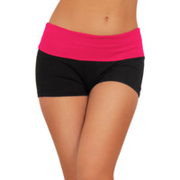 Fitness cotton pants casual pants running yoga large size ladies hot pants