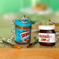 BFF nutella and peanut butter necklaces -both for 26$