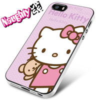 Hello Kitty Pink Cute iPhone 4s iphone 5 iphone 5s iphone 6 case, Samsung s3 samsung s4 samsung s5 note 3 note 4 case, iPod 4 5 Case