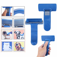 1 x Pet Dog Cleaning Brush Grooming Self Cleaning Pet Brush Dog Cat Grooming Trimmer Soft Pin For Dogs  Pet  Supplies