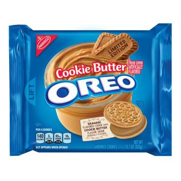 Nabisco Oreo Cookie Butter Sandwich Cookies Limited Edition 10.7 Oz. - Walmart.com