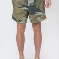 Printed Army Board Short