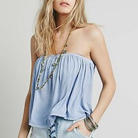 Free People Womens Under The Sea Tube Top