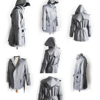 Stormbringer Armored Knight Trench Coat(100% Handmade with cotton) Made To Order