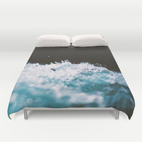 Soaked II Duvet Cover by Caleb Troy