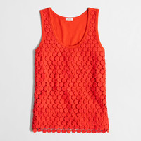 Factory tiered lace tank - 40%-50% Off Tees & Shorts - FactoryWomen's Factory Women_Feature_Assortment - J.Crew Factory