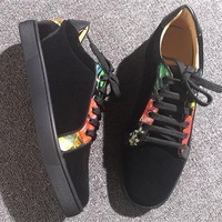 Cl Christian Louboutin Low Style #2065 Sneakers Fashion Shoes