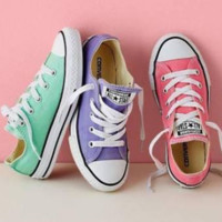 """Converse"" Fashion Canvas Flats Sneakers Sport Shoes Low tops (8-color)"