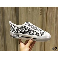 DIOR new tide brand women's style with letters low to help sports shoes #2