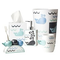 Whale Watch Bath Collection
