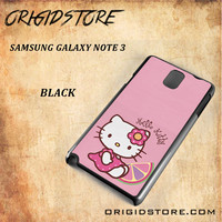 Hello Kitty Pink Lemon For Samsung Galaxy Note 3 Case - Gift Present Multiple Choice
