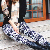 Winter Deer Leggings