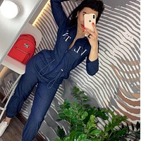 VLTN Women Long Sleeve Jumpsuit
