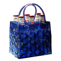 Chill It Beer Bottle Bag 6 - Midnight
